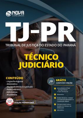 Apostila TJ PR 2020 PDF Técnico Judiciário Grátis Cursos Online