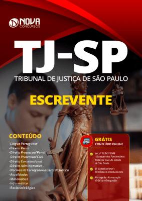 Apostila Concurso TJ SP 2020 Escrevente PDF Download e Impressa