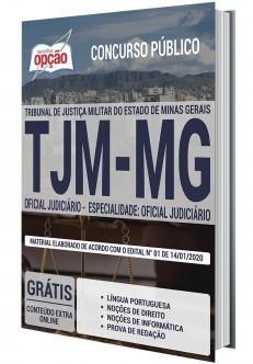 Apostila Concurso TJM MG 2020 PDF Download Oficial Judiciário