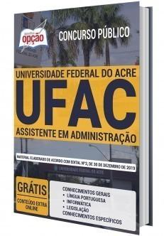 Apostila Concurso UFAC 2020 PDF e Impressa Assistente em Administração