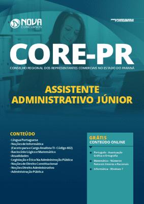 Apostila CORE PR 2020 PDF Assistente Administrativo Grátis Cursos Online