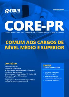 Apostila CORE PR 2020 PDF Nível Médio e Superior Grátis Cursos Online