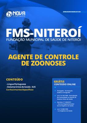 Apostila FMS Niterói 2020 Agente de Zoonoses PDF Grátis Cursos Online