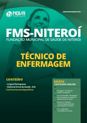 Apostila FMS Niterói 2020 Técnico de Enfermagem PDF Grátis Cursos Online