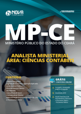Apostila MP CE 2020 Analista Ciências Contábeis PDF Grátis Cursos Online
