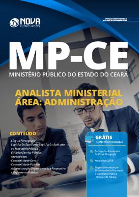 Apostila MP CE 2020 Analista Ministerial Administração PDF Grátis Cursos Online