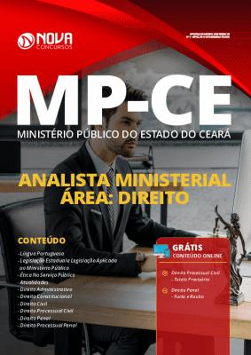 Apostila MP CE 2020 Analista Ministerial Direito PDF Grátis Cursos Online