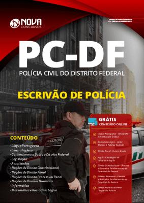 Apostila PC DF 2020 Escrivão de Polícia PDF Grátis Cursos Online
