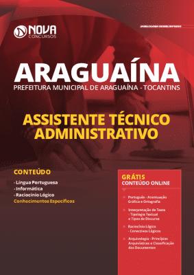 Apostila Concurso Prefeitura de Araguaína 2020 Impressa e PDF Grátis Cursos Online