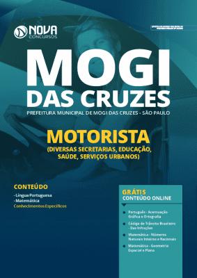 Apostila Prefeitura de Mogi das Cruzes 2020 PDF Motorista