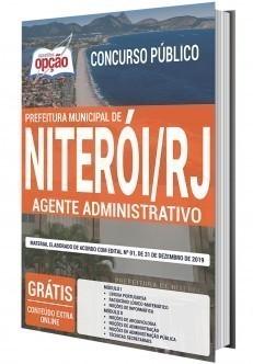 Apostila Prefeitura de Niterói 2020 Agente Administrativo PDF e Impressa
