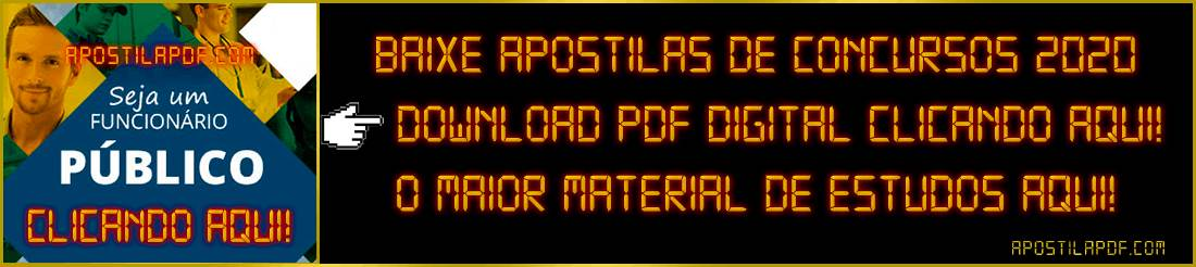 apostila concurso 2020 pdf download digital e impressa