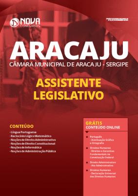 Apostila Câmara de Aracaju 2020 PDF Assistente Legislativo