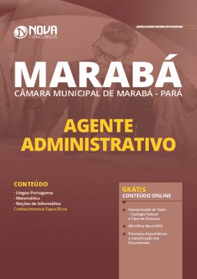 Apostila Agente Administrativo Câmara de Marabá 2020