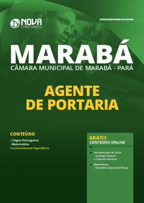 Apostila Câmara de Marabá 2020 PDF Agente de Portaria
