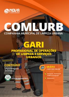 Apostila Concurso COMLURB 2020 PDF Gari Grátis Cursos Online