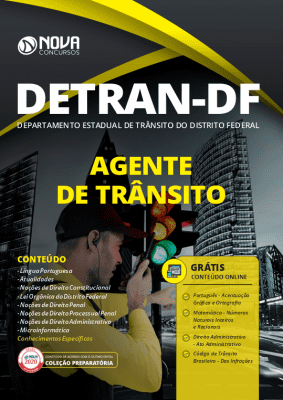 Apostila Concurso DETRAN DF 2020 PDF Agente de Trânsito