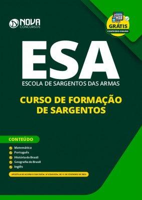 Apostila Concurso ESA 2020 Download PDF Grátis Curso Online