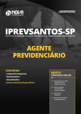Apostila Concurso IPREVSANTOS 2020 PDF Download Agente Previdenciário
