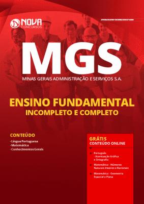 Apostila Concurso MGS 2020 PDF Cargos de Nível Fundamental