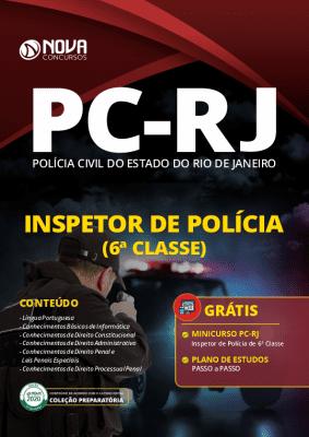 Apostila Concurso PC RJ 2020 PDF Inspetor de Polícia Grátis Cursos Online