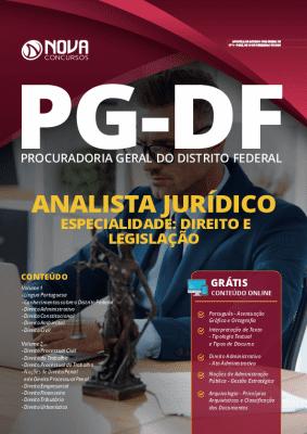 Apostila Concurso PG DF 2020 PDF Download Analista em Direito