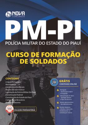 Apostila Concurso PM PI 2020 PDF Download Curso de Soldados
