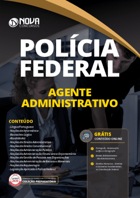 Apostila Concurso Polícia Federal 2020 PDF Download Agente Administrativo Grátis Cursos Online