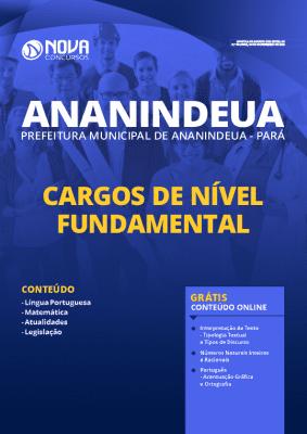 Apostila Prefeitura de Ananindeua 2020 PDF Nível Fundamental