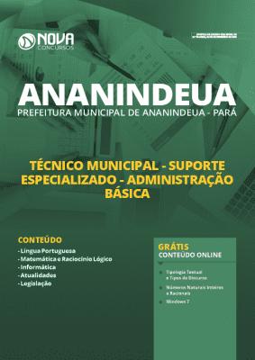 Apostila Prefeitura de Ananindeua 2020 PDF Nível Médio