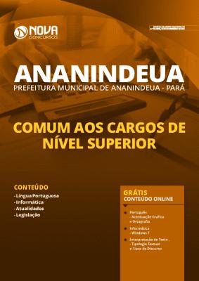 Apostila Prefeitura de Ananindeua 2020 PDF Nível Superior