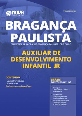 Apostila Concurso Prefeitura de Bragança Paulista 2020 PDF Download Auxiliar de Desenvolvimento Infantil Jr