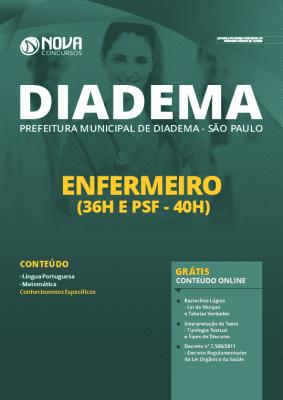 Apostila Concurso Prefeitura de Diadema 2020 PDF Enfermeiro