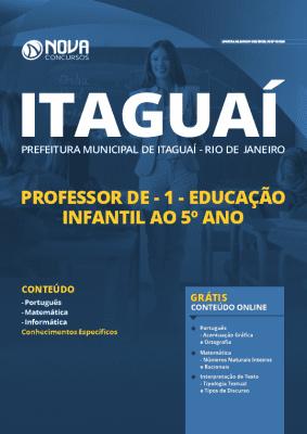 Apostila Concurso Prefeitura de Itaguaí 2020 PDF Professor