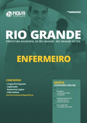 Apostila Concurso Prefeitura de Rio Grande 2020 PDF Enfermeiro