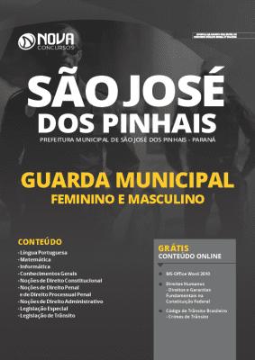 Apostila Prefeitura de São José dos Pinhais 2020 PDF Guarda Municipal