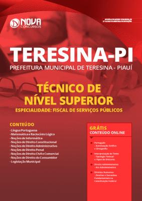 Apostila Concurso Prefeitura de Teresina 2020 PDF Fiscal