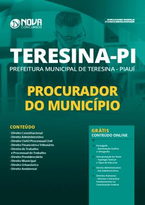 Apostila Concurso Prefeitura de Teresina 2020 PDF Procurador