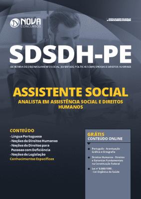 Apostila Prefeitura do Recife 2020 PDF Assistente Social