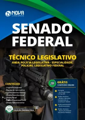 Apostila Concurso Senado Federal 2020 PDF Policial Legislativo