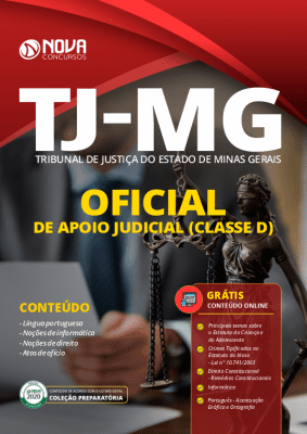 Apostila Concurso TJ MG 2020 PDF Oficial de Apoio Judicial