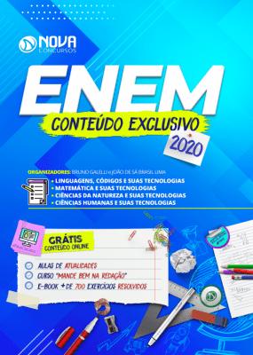 Apostila ENEM 2020 PDF Grátis Curso Online