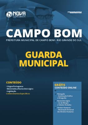 Apostila Prefeitura de Campo Bom RS 2020 PDF Guarda Municipal