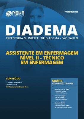 Apostila Prefeitura de Diadema 2020 PDF Técnico em Enfermagem