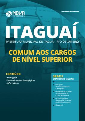 Apostila Prefeitura de Itaguaí 2020 PDF Nível Superior