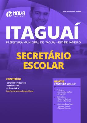 Apostila Prefeitura de Itaguaí 2020 PDF Download Secretário Escolar
