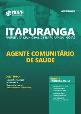 Apostila Prefeitura de Itapuranga GO 2020 PDF Agente de Saúde