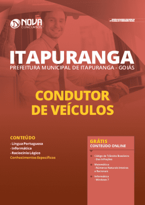 Apostila Prefeitura de Itapuranga GO 2020 PDF Condutor de Veículos