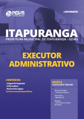 Apostila Prefeitura de Itapuranga GO 2020 PDF Executor Administrativo