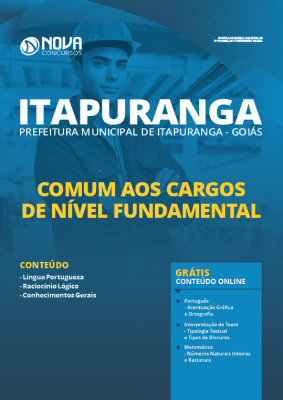 Apostila Prefeitura de Itapuranga GO 2020 PDF Nível Fundamental